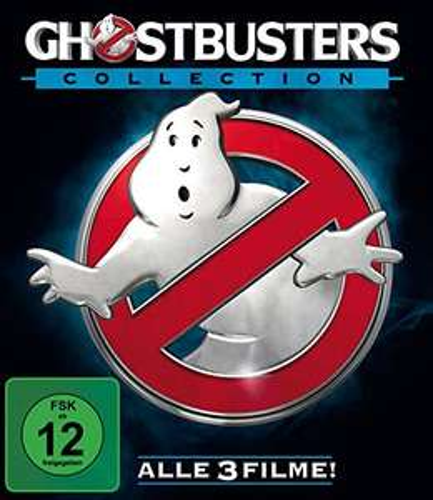 Coffret Blu-ray Ghostbusters 1 à 3 - Version allemande
