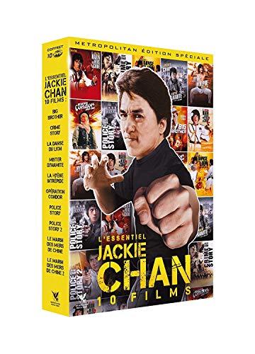 Coffret DVD - Jackie Chan l'essentiel (10 films)
