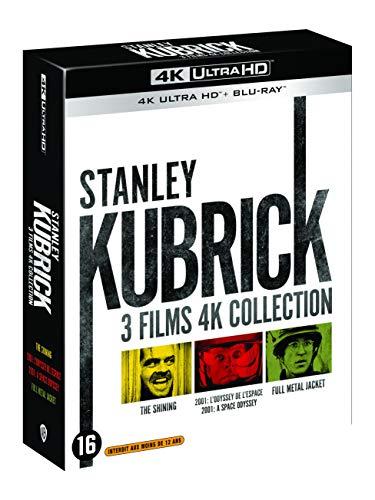 Coffret Blu-Ray 4K UHD + Blu-Ray - Stanley Kubrick : Collection de 3 Films