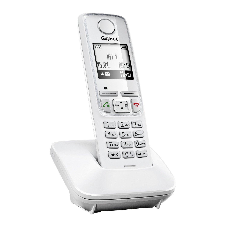 Téléphone sans fil Gigaset A420 Blanc
