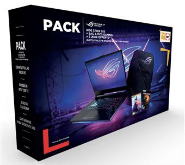 """[Adhérents] PC Portable 15.6"""" Asus STRIX-G15-G512LV-AZ301T - i7, 16Go RAM, 512Go SSD + Sac à dos Rog + 2 Jeux (150€ sur compte fidélité)"""