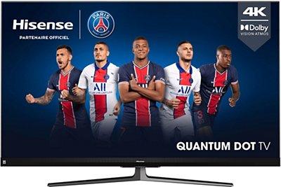 """TV QLED 55"""" Hisense 55U82QF - UHD 4K, 100 Hz, DolbyVision, HDR10+, HDR HLG (via ODR 200€)"""
