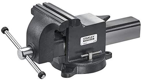 Etau d'établi 150mm Stanley 1-83-068 grande resistance en fonte 150mm