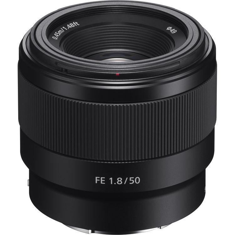 Objectif photo Sony FE SEL50F18 (+10€ offert en bon d'achat pour les adhérents)