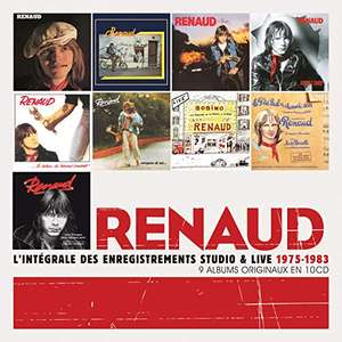 Coffret 10 CD - Renaud L'Integrale Des Enregistrements