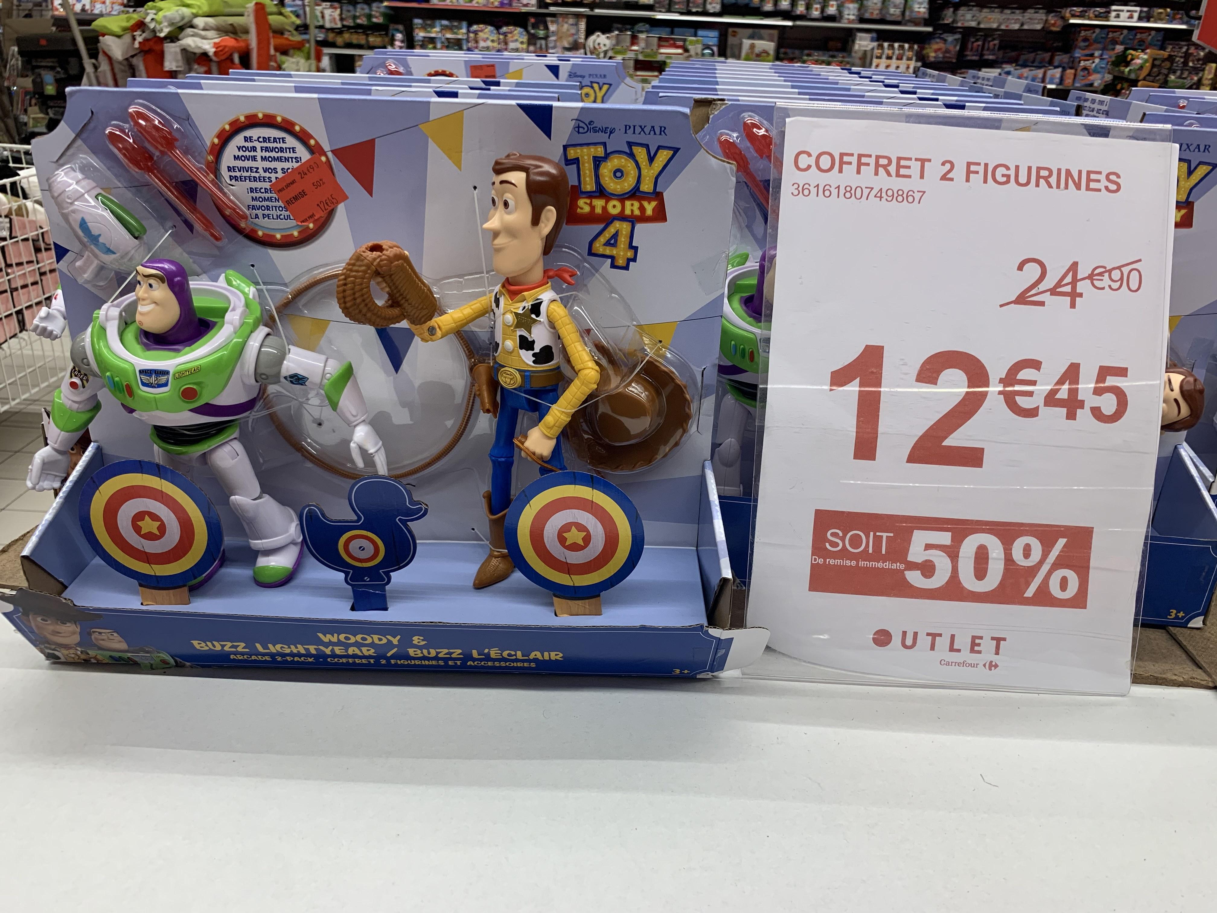 Coffret 2 figurines Toy Story (Sevran 93)