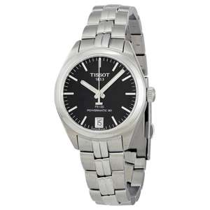 Tissot automatique verre saphir reserve 80h PR 100 Powermatic Black Dial Ladies (frais de douane et port inclus)