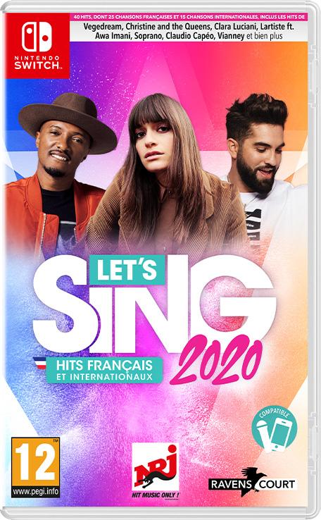 Let's Sing 2020 Hits Français et Internationaux sur Nintendo Switch (Dématérialisé)