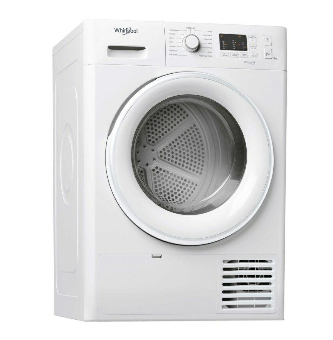 Sèche-linge à condensation Whirlpool FTCM108BFR - 8Kg