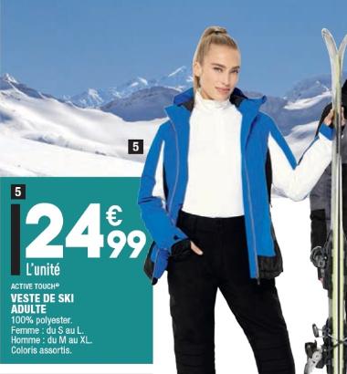 Sélection de produits - Ex: Veste de ski pour Homme ou Femme Activ Touch