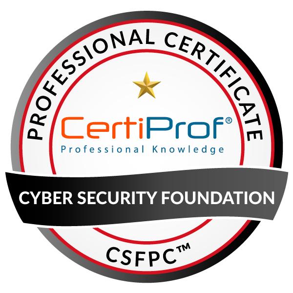 Certification gratuite de la Cyber Security Foundation (CSFPC) - certiprof.com