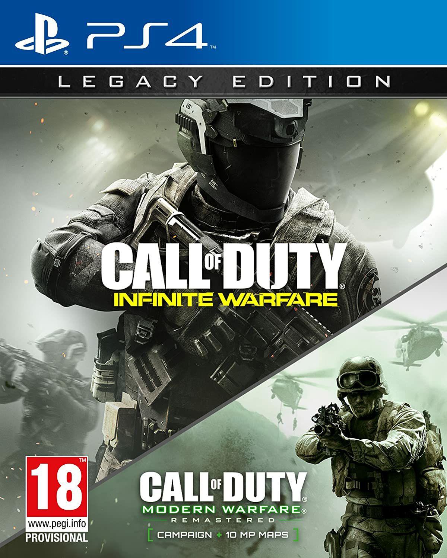 Call of Duty: Infinite Warfare Édition Legacy sur PS4 (dans une sélection de magasins)