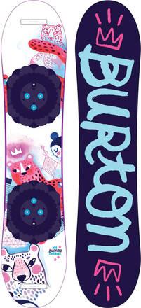 Snowboard enfants Burton Chicklet 20/21 - plusieurs tailles (skatepro.fr)