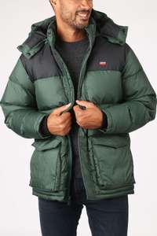 Manteau Parka Levi's Fillmore - Python Green (Tailles S à XL)