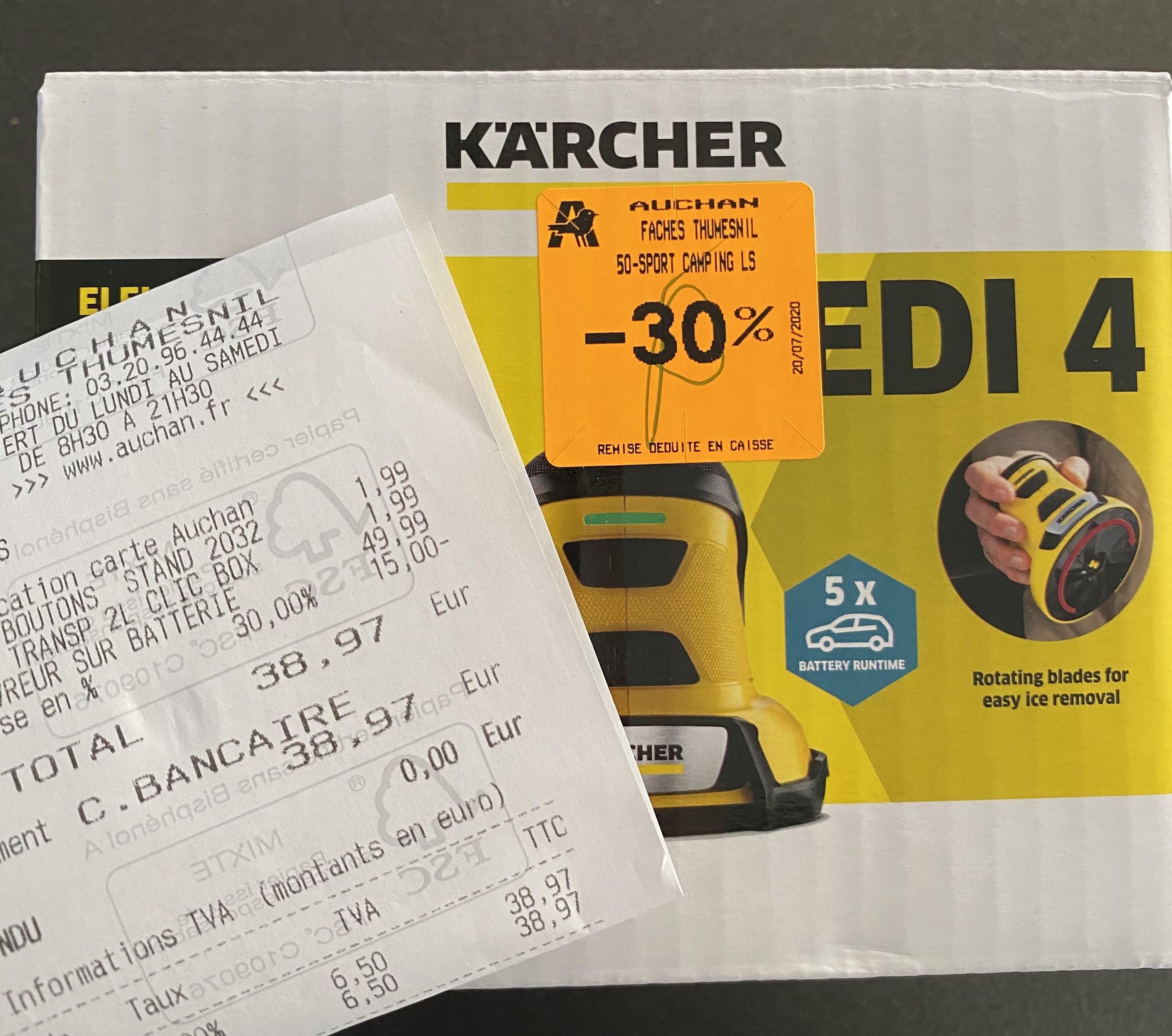 Dégivreur Karcher EDI 4 - Faches-Thumesnil (59)