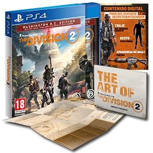 The Division 2 Edition Washington DC sur PS4 (Retrait magasin uniquement)