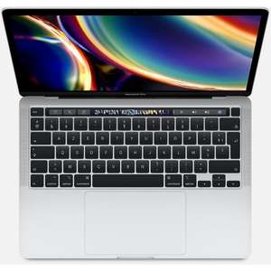 "[CDAV] PC Portable 13.3"" Apple MacBook Pro Touch Bar (2020) - Intel Core i5 (10ème génération), RAM 16 Go, 512 Go SSD, Argent"
