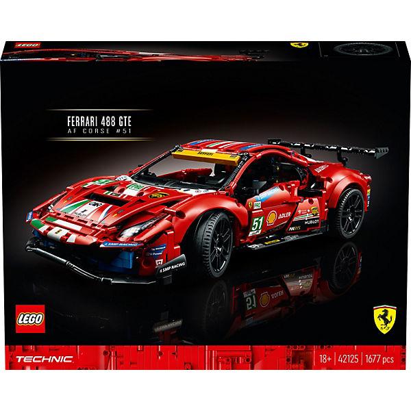 -10% sur tous les Jouets - Ex: Jeux de construction Lego Technic (42125) - Ferrari à 148,83€