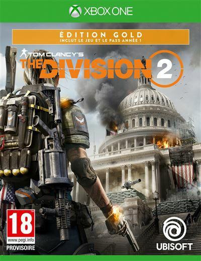The Division 2 Edition Gold sur Xbox One (Via retrait en magasin)