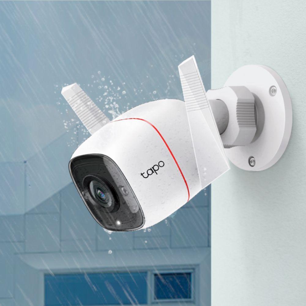 Caméra extérieure TP-Link Tapo C310 - 1080P, IP66, Compatible Alexa et Google Assistant