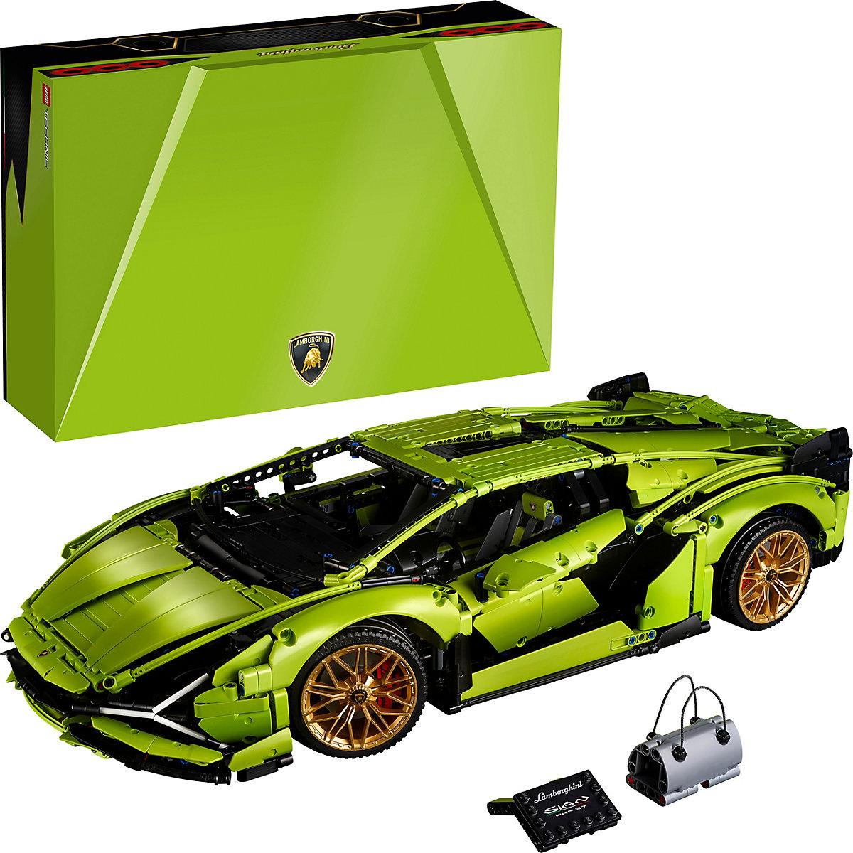 Jeu de construction Lego technic - Voiture de course Lamborghini n°42115