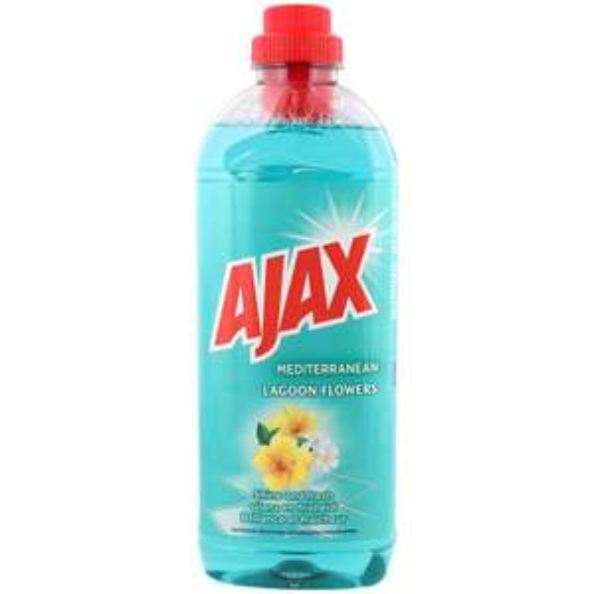 Nettoyant multi-surfaces Ajax Fleurs du Lagon Méditerranéennes - 1L (Divers parfums disponibles)