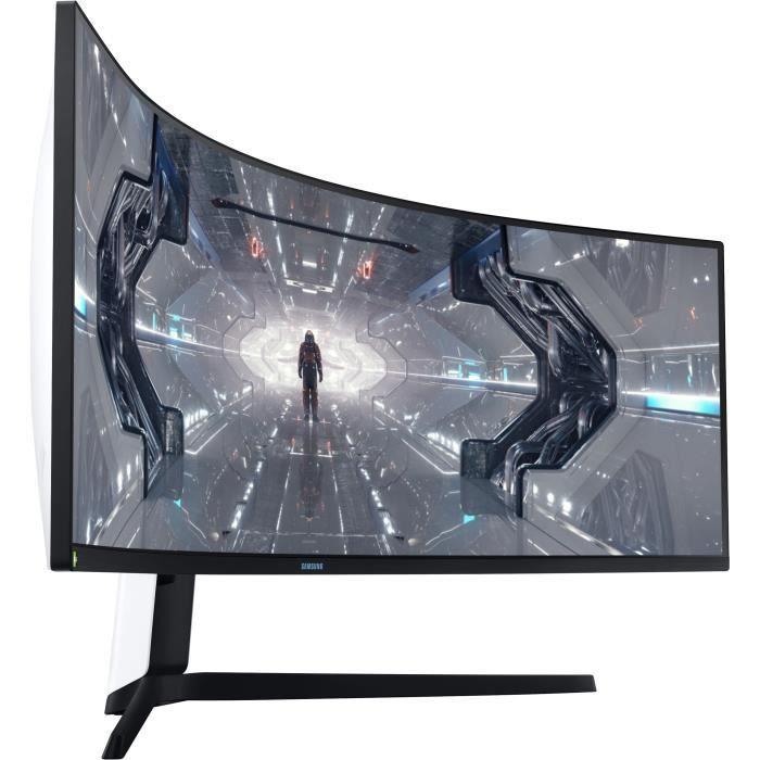 """Ecran incurvé PC 49"""" Samsung Odyssey G9 C49G95TSSU - DWQHD, QLED, 1 ms, 240Hz, G-Sync"""