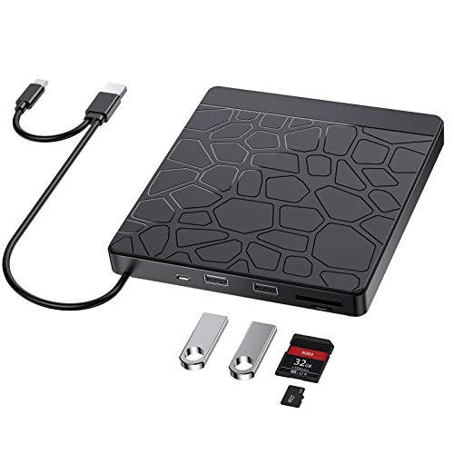 Lecteur CD DVD externe, 5 ports (Vendeur Tiers)