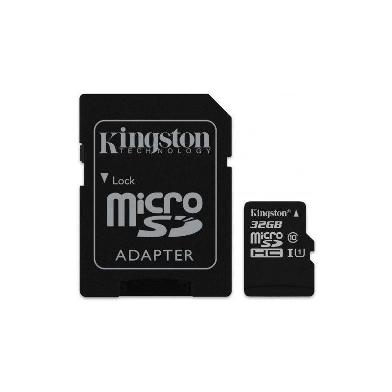 Carte mémoire MicroSD Kingston Canvas Select - 32 Go