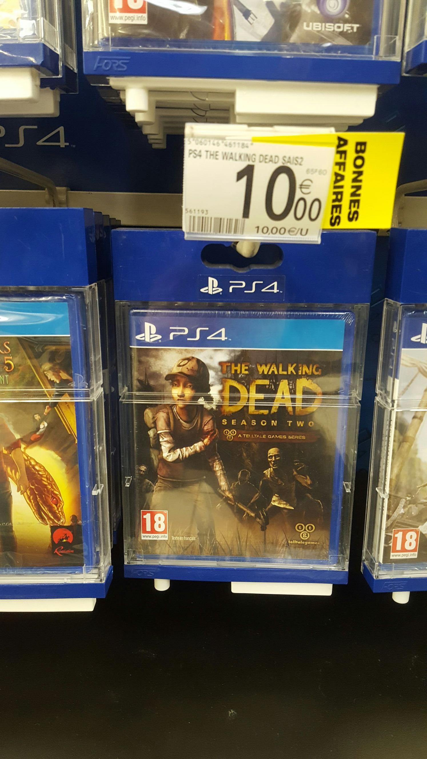 The Walking Dead Saison 2 sur PS4