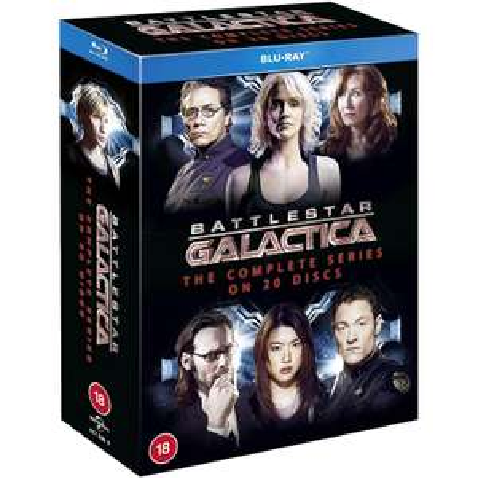 Coffret Blu-ray Intégrale Battlestar Galactica (2004)