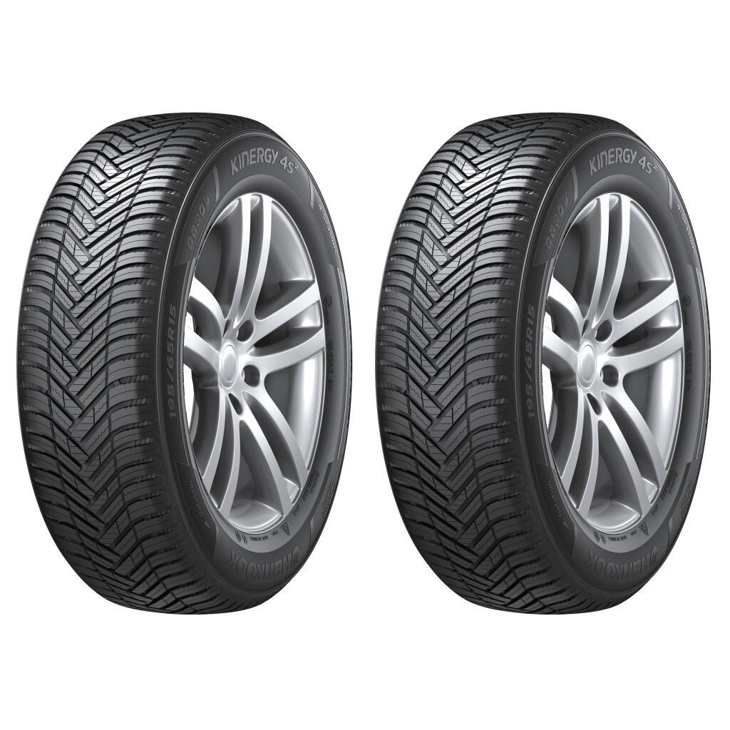 Jusqu'à 20€ de réduction par pneu sur la marque Hankook - Ex : Lot de 2 pneus 4 Saisons Kinergy 4S² H750 - 225/40 R18 92Y (XL, M+S, 3PMSF)
