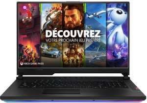 """PC Portable 17.3"""" Gaming Asus SCAR17-G732LXS-HG059T - Full HD 300Hz, i9-10980HK, RAM 32 Go, SSD 2 x 1 To, RTX 2080 Super, Windows 10"""
