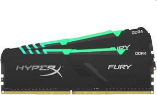 Kit mémoire RAM HyperX Fury HX436C17FB3AK2/16 - 16 Go (2 x 8 Go), 3600 Mhz, CL17, RGB (tones.be)