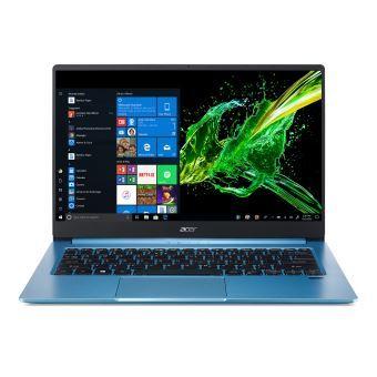 """PC Portable 14"""" Acer Swift 3 SF314-57-71JB - i7-1065G7, 8 Go de RAM, 512 Go SSD, Bleu"""