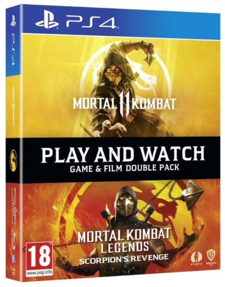 Bundle Mortal Kombat 11 : Scorpions Revenge (Jeu PS4 + Blu-Ray)