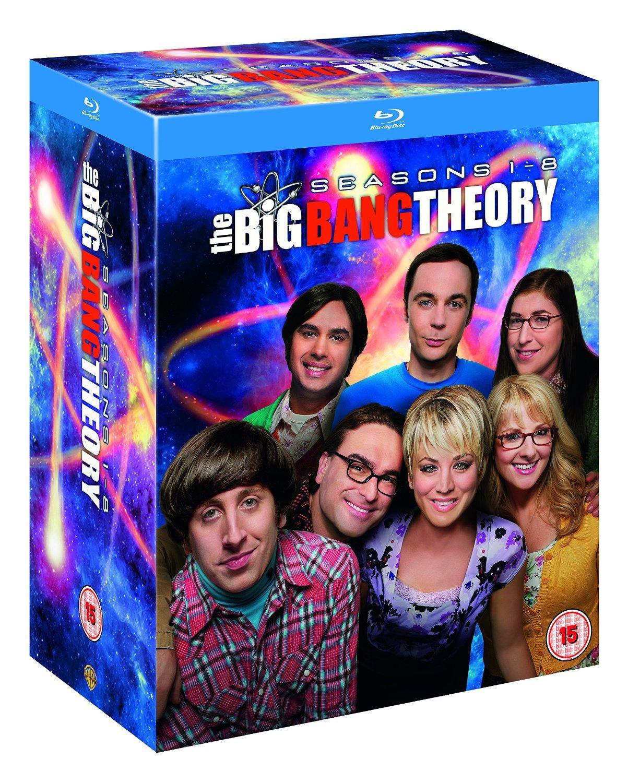 Coffret Blu-ray : The Big Bang Theory Saisons 1 à 8