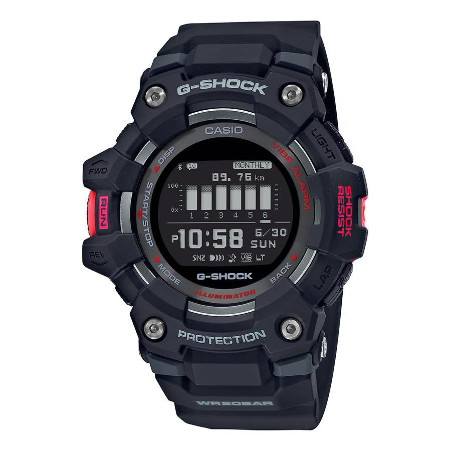Casio G-Shock GBD-100 noir rouge - Bluetooth - étanche 200M