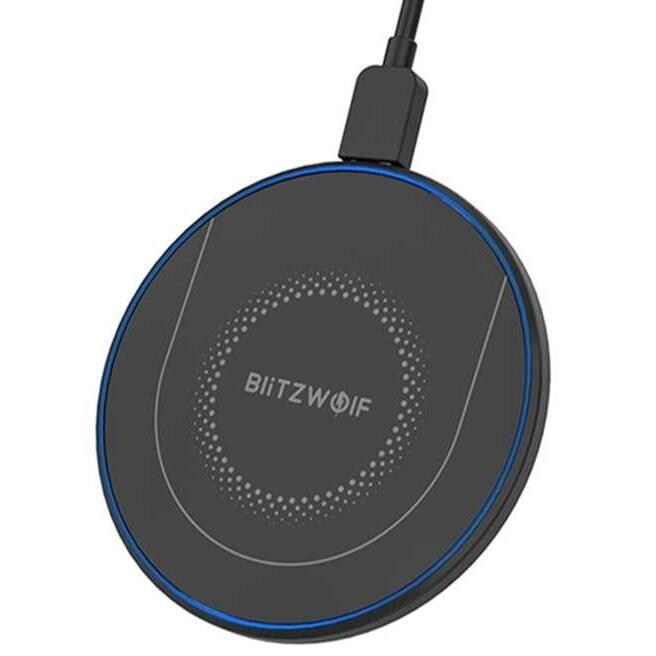 Chargeur sans fil BlitzWolf BW-FWC7 - 15W + Câble Type-C 1m (Entrepôt Europe)