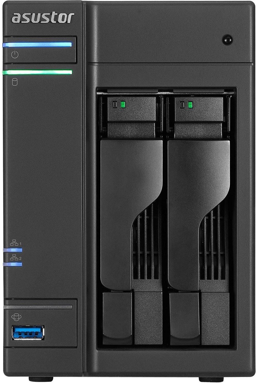 Serveur NAS Asustor AS6302T - 2 baies, sans disques durs