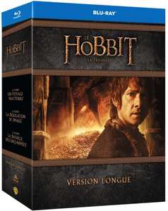 Coffret Blu-Ray Le Hobbit - La Trilogie (Version Longue)