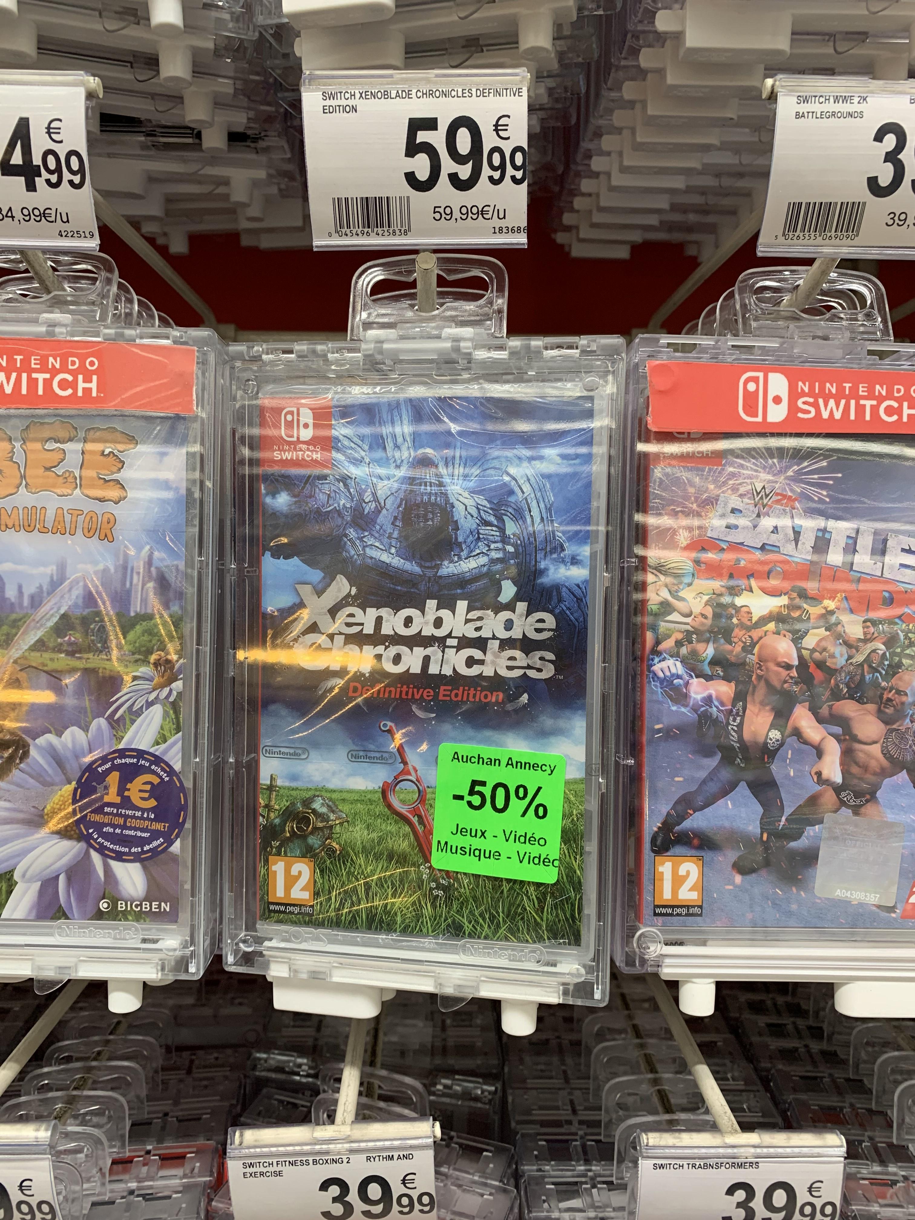 Xenoblade Chronicles Definitive Edition sur Nintendo Switch (Epagny 74)