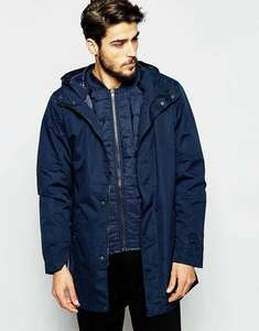 Parka 2-en-1 Homme French Connection - Taille S