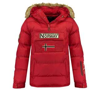 Veste Geographical Norway Boker - Rouge (Taille S, M & L)