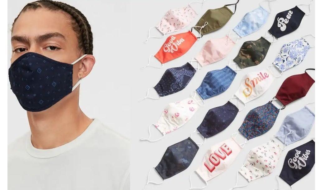 Lot de 3 masques de protection en tissu - Vélizy-Villacoublay (78)