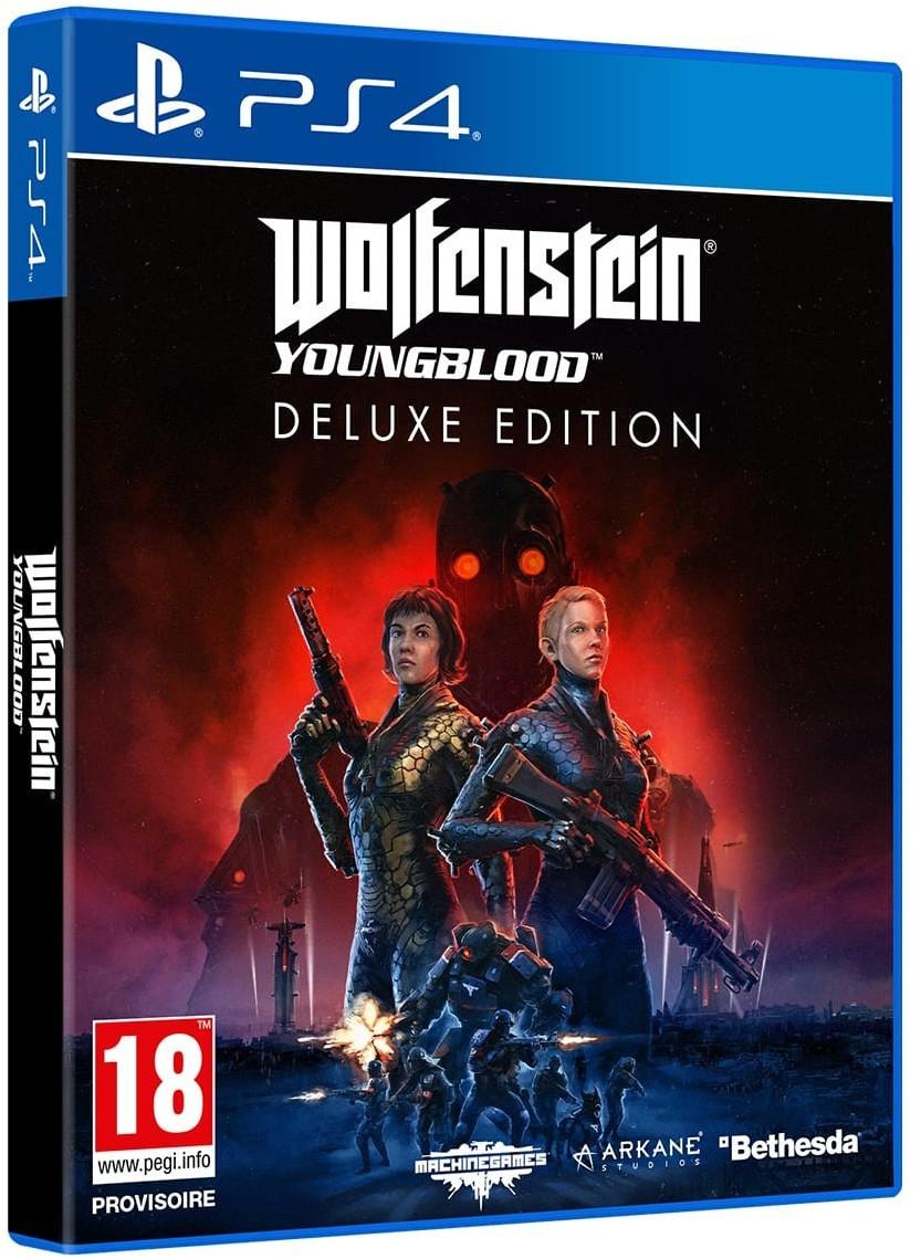 Wolfenstein: Youngblood - Édition Deluxe PS4 (via 29.99€ sur la carte de fidélité)