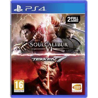 Tekken 7 + Soulcalibur VI sur PS4