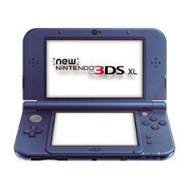 Console Nintendo New 3DS XL - Bleu Métallique