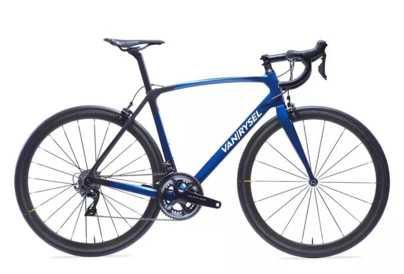 Vélo de route Van Rysel - ultra rcr carbone Shimano Dura-Ace bleu