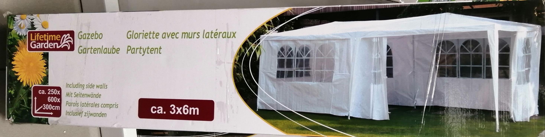 Tente de réception avec mur latéraux 3x6m - Argenteuil (95)